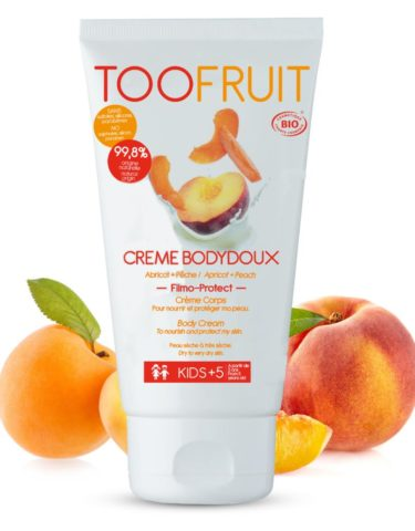 Too Fruit Creme Bodydoux Creme Corps Bio Enfants Peche Abricot