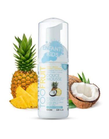 Too Fruit Douce Mousse Nettoyante Bio Enfants Ananas Coco