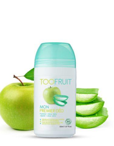 Too Fruit Mon Premier Deo Deodorant Bio Enfants Pomme Aloe Vera