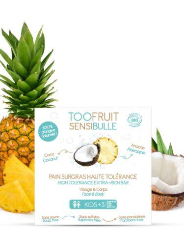 Too Fruit Sensibulle Pain Surgras Bio Enfants Ananas Coco